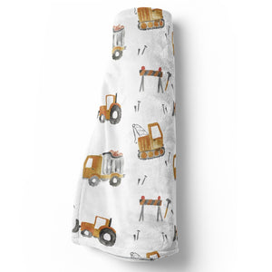 Little Digger Stroller Blanket