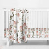 Millie's Dusty Rose Garden Nursery Baby Bedding