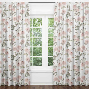 millie's dusty rose garden blackout curtains