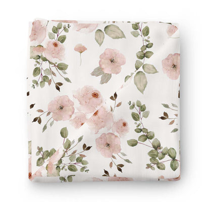 Millie's Dusty Rose Garden Baby Bedding