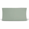 Solid Moss Knit Changing Pad Cover