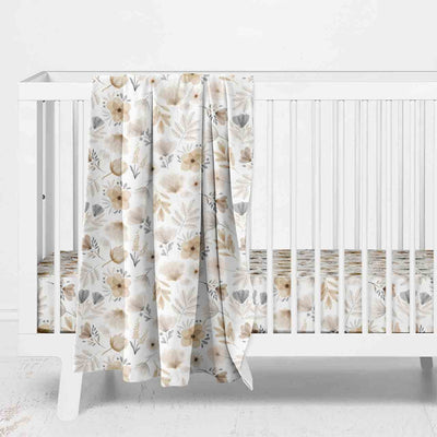 Navie's Neutral Floral Nursery Collection