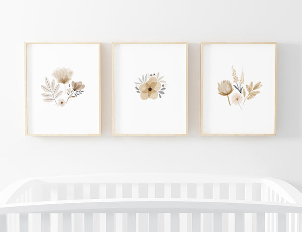 Navie Neutral Bundled Art Prints