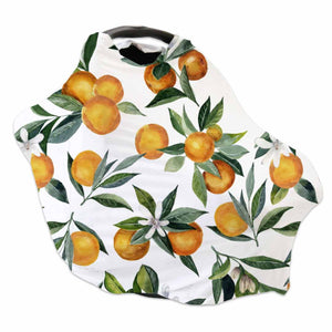 gender neutral oranges car seat cover