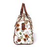 Quinn's Rust Floral Overnight Bag