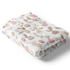 remi's rose vines minky soft baby blanket