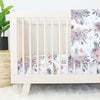 Rowan's Dusty Purple Crib Bedding Set