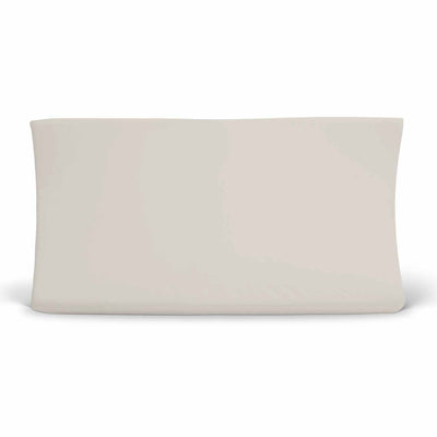 Solid Soft Taupe Sand Changing Table Pad Cover in Soft Jersey Knit