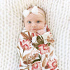 Savannah's Sunset Floral Newborn Swaddle