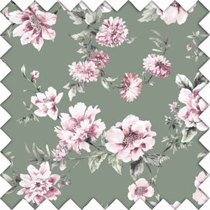 Saylor's Sage & Blush Floral Swatch Kit
