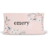 Sketched Pink Floral Personalized Fitted Changing Pad Cover