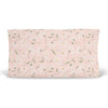 daisy in blush pink changing pad cover nursery
