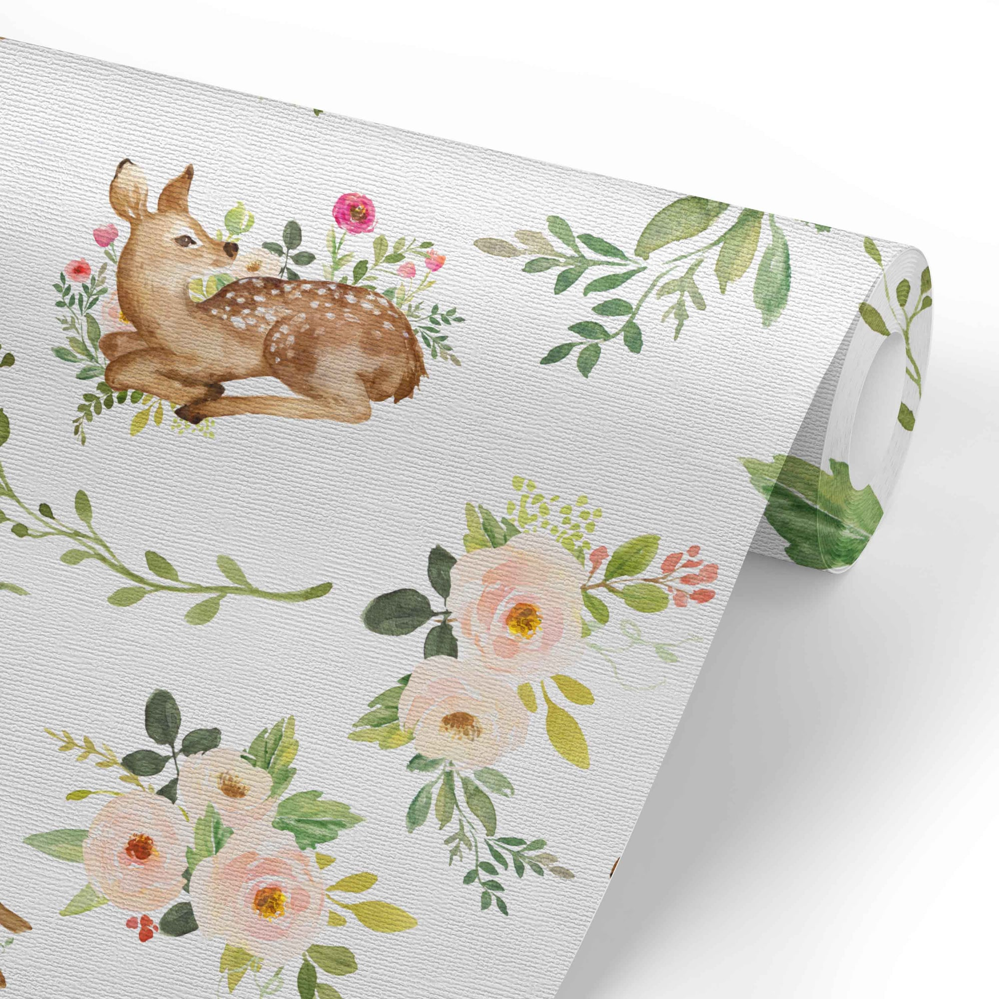 Winnie S Woodland Friends Removable Wallpaper