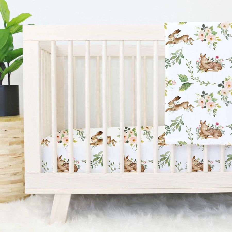 Crib Sheet - Winnie's Woodland Friends