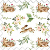 Winnie's Woodland Friends Fabric Swatch