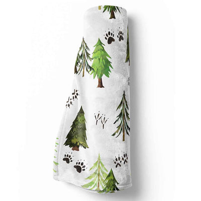 Woodland Tree Baby and Toddler Stroller Blanket
