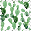 modern cactus fabric swatch for your nursery