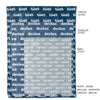 Baby Blues Personalized Color Blanket