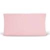 Solid Ballet Pink Bamboo Knit Changing Pad Cover