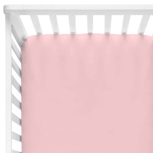ballerina pink crib sheet