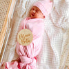 ballet pink oversized super soft swaddle