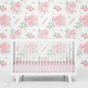 Blush Rose Removable Wallpaper