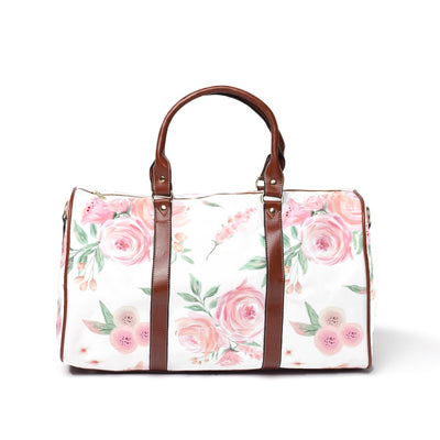 blush rose overnight bag