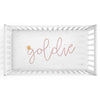 Boho Dreams Personalized Crib Sheet