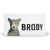 Brody's Bear & Mountain Adventure Personalized Fitted Changing Pad Cover