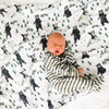 Brody's Bear & Mountain Adventure Oversized Swaddle Blanket