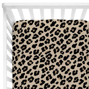 Lila's Leopard Baby Bedding