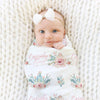 super soft cactus swaddle blanket