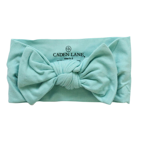 tiffany blue bow headband