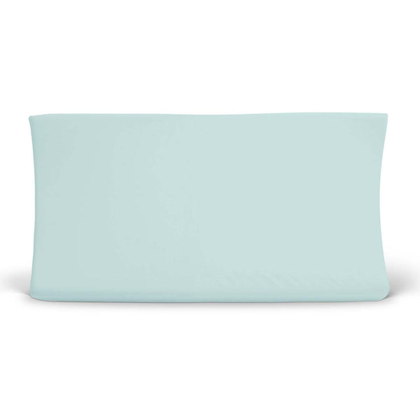 Blue Boho Changing Pad Cover
