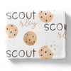 cookie print personalized kids blanket