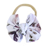 Demi Floral Knit Bow Headband