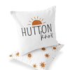 Desert Suns Custom Name Throw Pillow