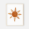 desert sun digital wall art