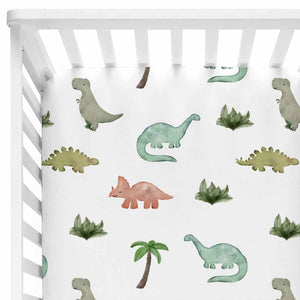 Dawson's Dino Friends Baby Bedding