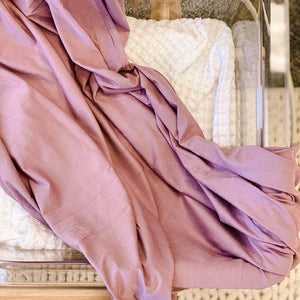 dusty purple swaddle bamboo