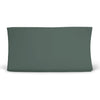Solid Emerald Bamboo Knit Changing Pad Cover