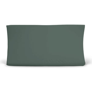 Solid Emerald Bamboo Knit Changing Pad Cover*
