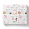 Sweet Treats Personalized Toddler Blanket