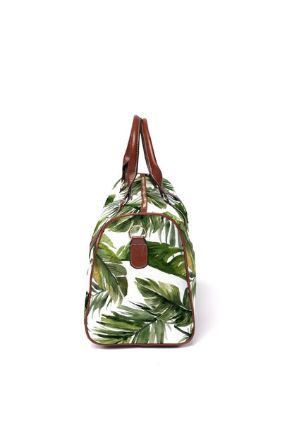 forest palm overnight travel bag