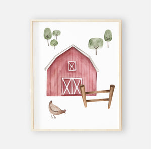 frankie's farm party digital wall art