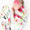 Franny's Farmhouse Floral Crib Bedding