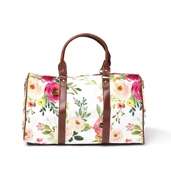 franny farmhouse floral hospital bag