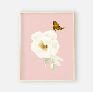 Harper's Butterfly Garden Digital Nursery Wall Art Print 2