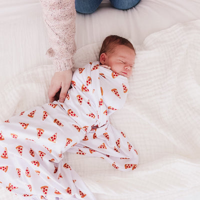 Small Slice Oversized Swaddle Blanket