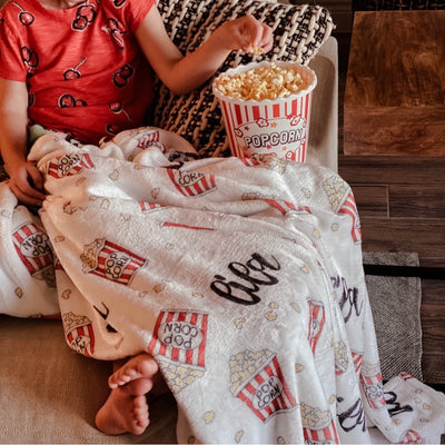 popcorn night blanket